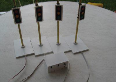 Ampelkreuzung - Rötzschke Modellbau