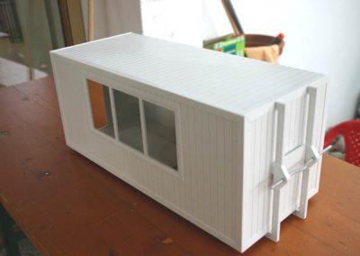 Bürocontainer - Rötzschke Modellbau