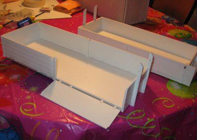 Mulden mit Klappe - Rötzschke Modellbau