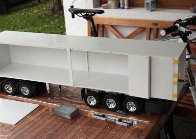 Falttürenaufbau - Rötzschke Modellbau