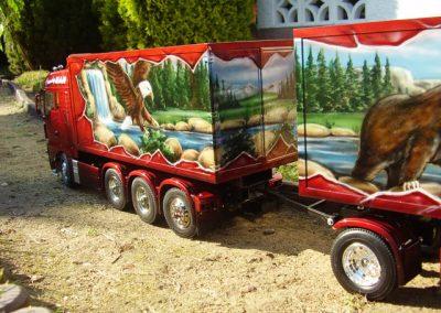 Kofferaufbau - Rötzschke Modellbau