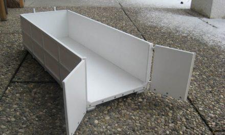 Mittelhoher Container